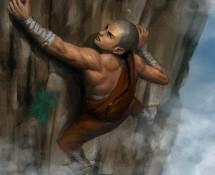 Climbing Wu Mountain illustration