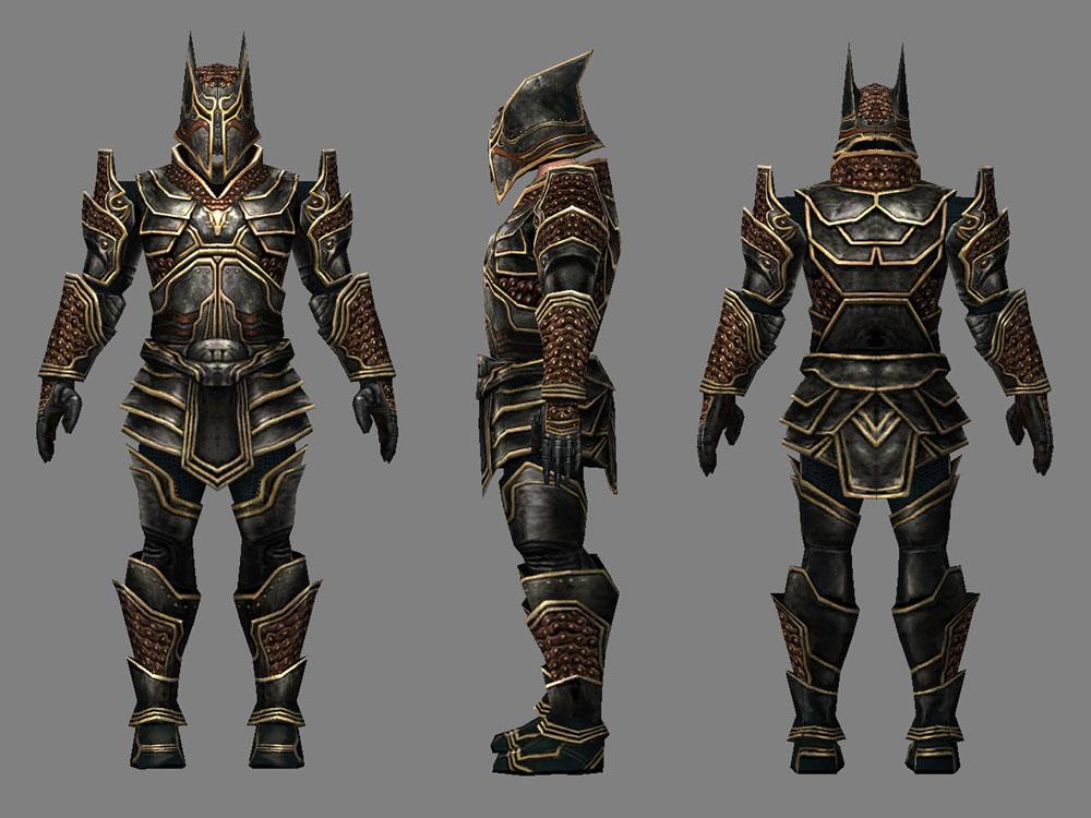 Guild Wars jackal warrior armor | Xia Taptara
