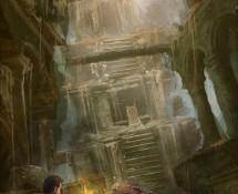 forgotten city book cover art by xia taptara
