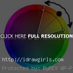 analogous color scheme on color wheel