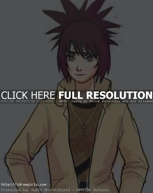 anko mitarashi How to draw Anko from Naruto