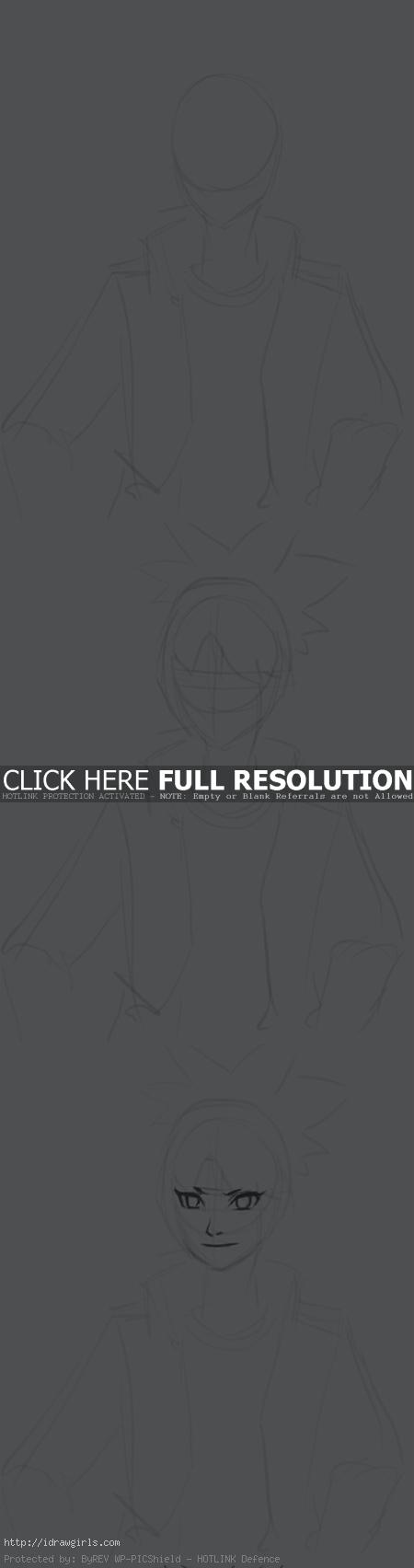 How to draw Anko Mitarashi