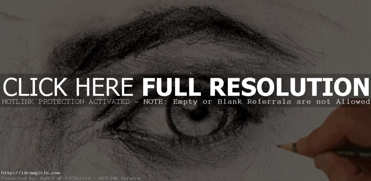 how to draw eye How to draw eye