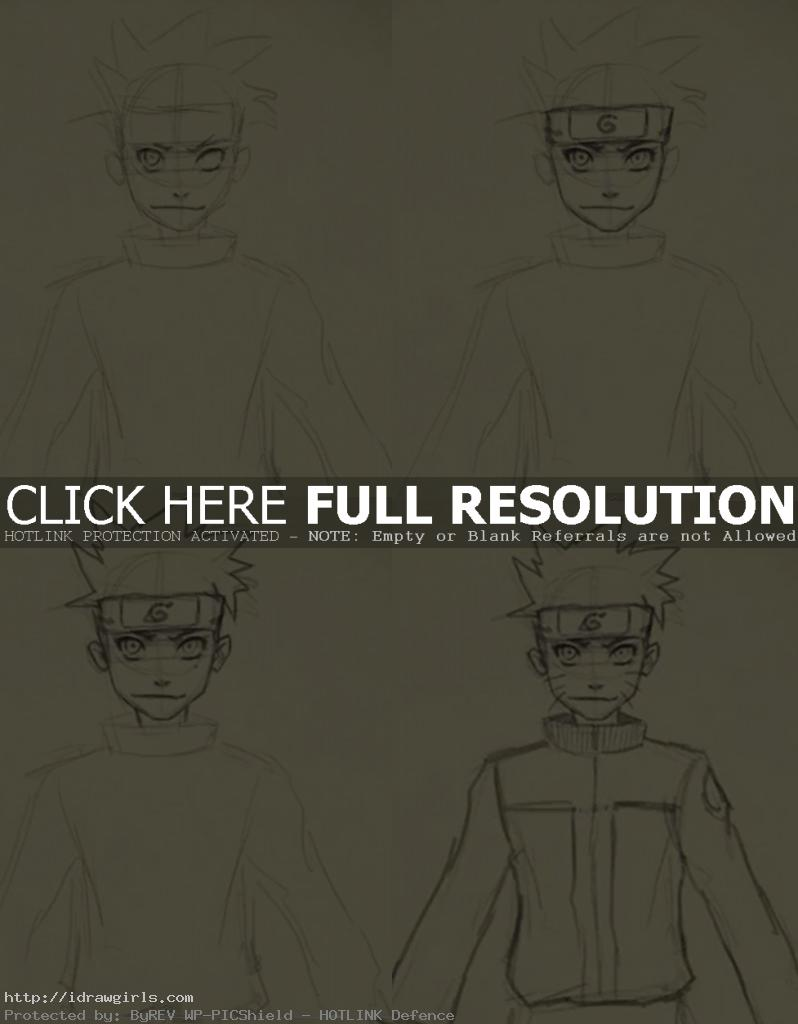 how to draw naruto 798x1024 How to draw  Naruto Uzumaki