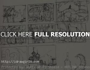 thumbnails for environmental art 300x232 What size to paint in Photoshop for illustration