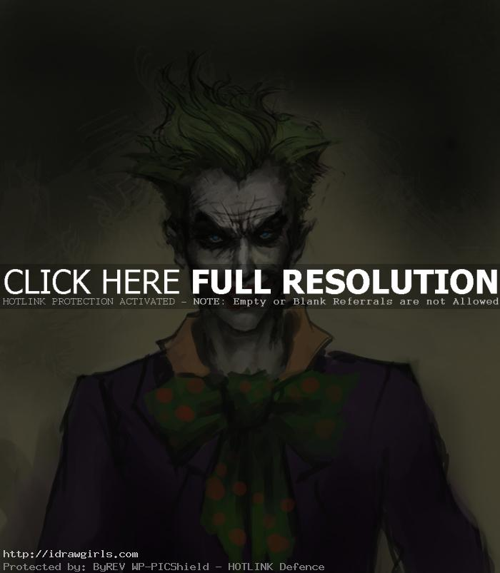 draw joker How to draw Joker