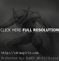 Goblin drawing