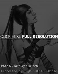 Elektra drawing