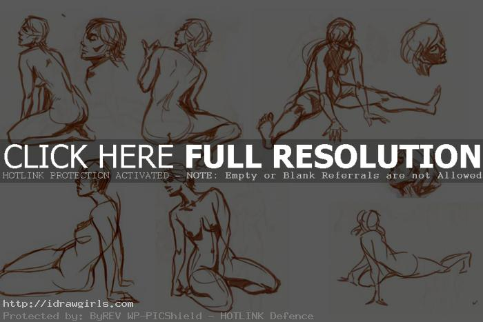 gesture drawing two minutes brush Gesture drawing tips and technique