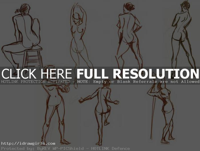 gesture drawing with brush Gesture drawing tips and technique