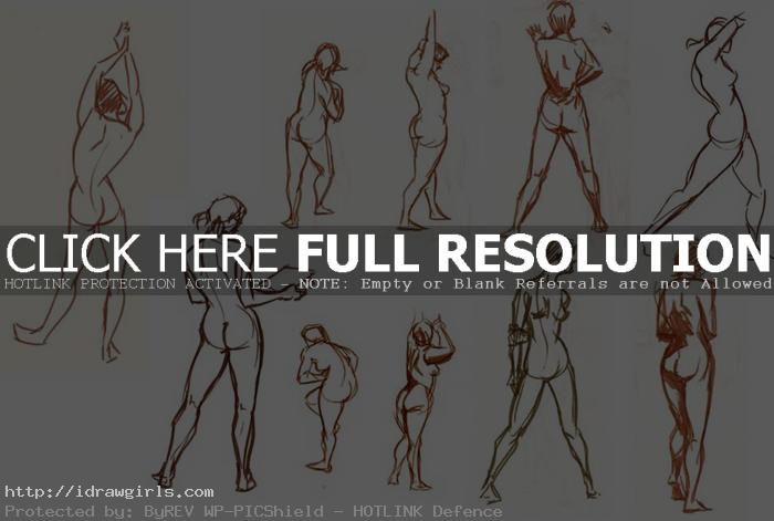 gesture drawings Gesture drawing tips and technique