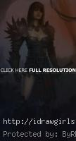 guildwars 2 concept art girl