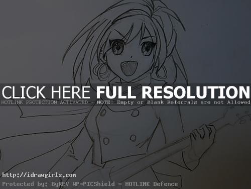 haruhi drawing How to draw Haruhi Suzumiya