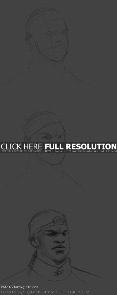 how to draw basic face How to draw basic face