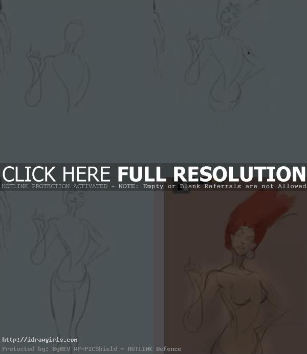 how to draw woman superhero How to draw female superhero