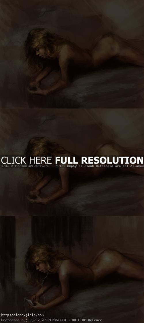 how to paint figure recline Painting reclining female figure