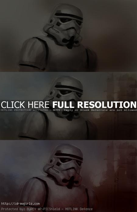 how to paint stormtrooper How to draw and paint Stormtrooper
