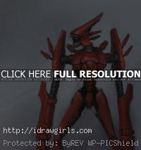 robot mecha scout
