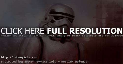 stormtrooper painting How to draw and paint Stormtrooper