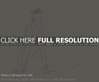 1 minutes gesture figure 001 Gestures life drawing from July 2011