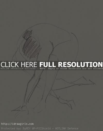 1 minutes gesture figure 003 Gestures life drawing from July 2011