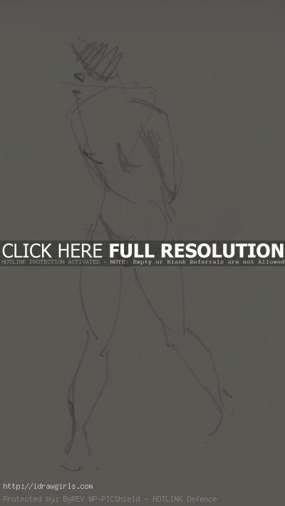 2 minutes gesture figure 003 Gestures life drawing from July 2011