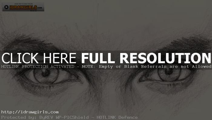 drawing eyes tutorial man How to draw eyes for man