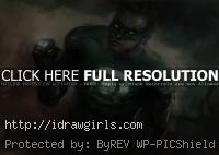 Green Lantern speed painting