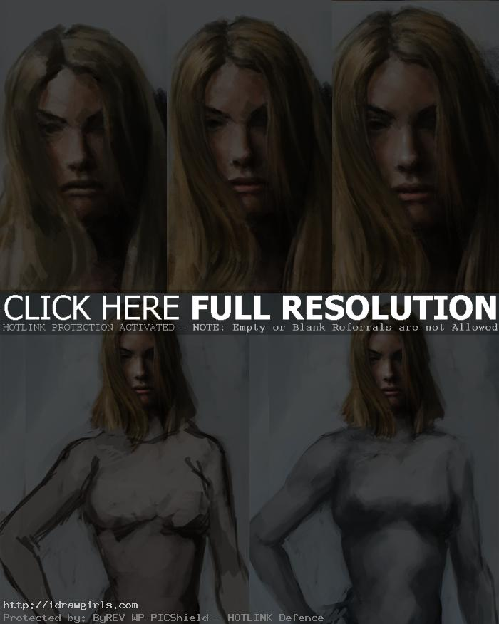 how to color susan storm f4 How to paint Susan Storm invisible woman
