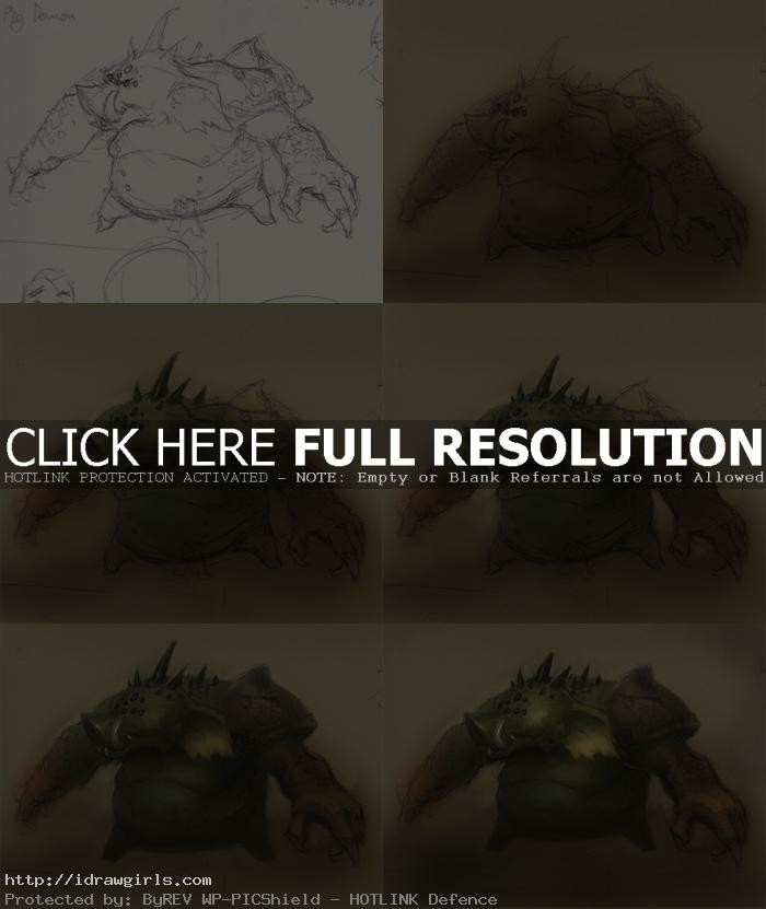 how to paint pig monster How to paint pig monster