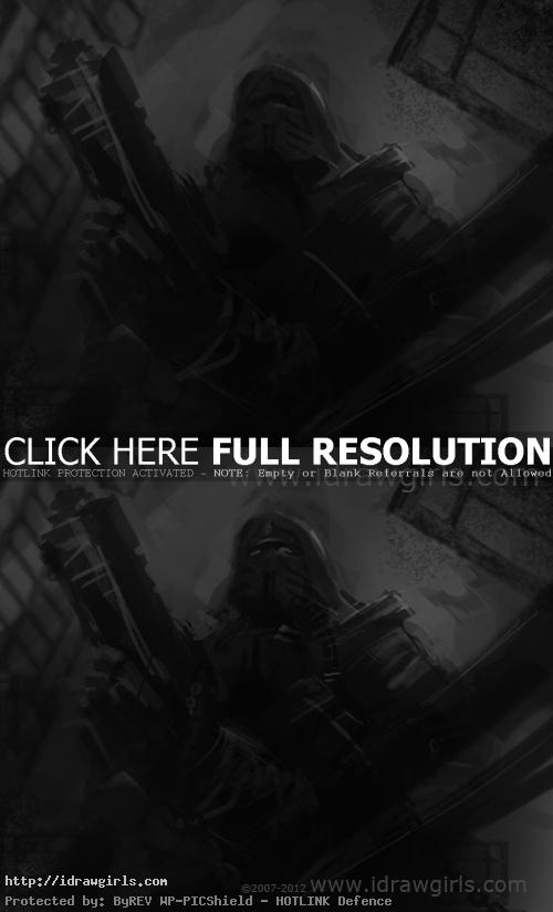 speed painting tutorial Speed painting tutorial shadow commander.