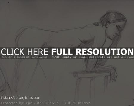 10 minutes figure drawing 003