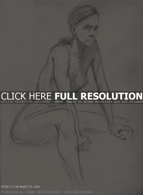 10 minutes figure drawing 02