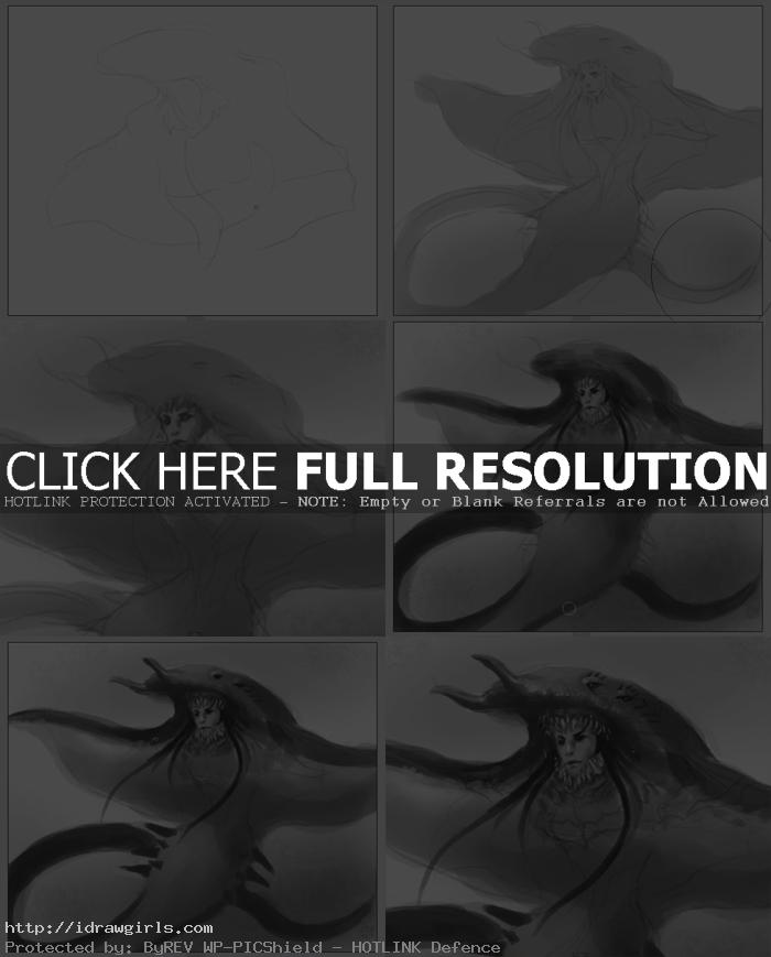 creature design tutorial sting ray How to draw sting ray creature