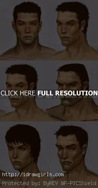 how to design character face for game