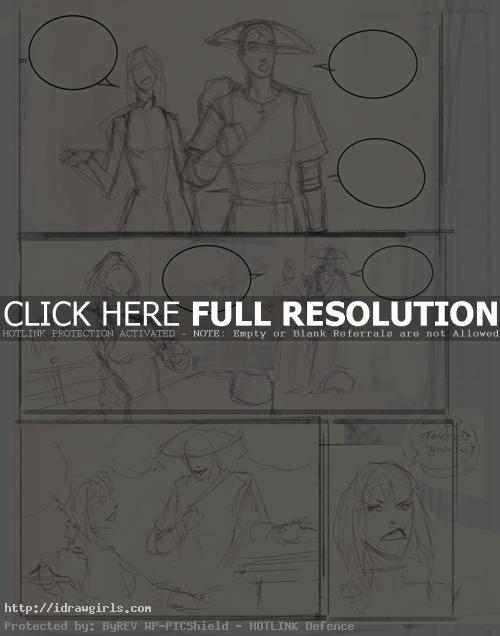 how to draw comics page layout1 How to draw comics page layout
