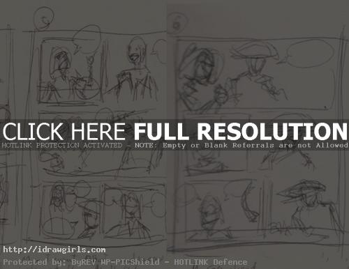how to draw comics thumbnail page layout How to draw comics page layout