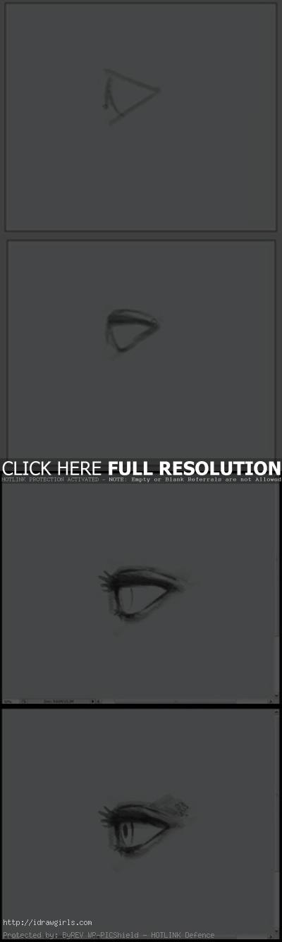 how to draw eye side view How to draw eye side view