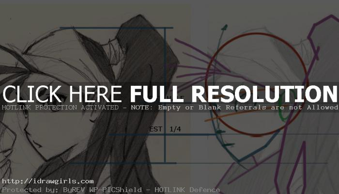 Ibuki Manga drawing tutorial