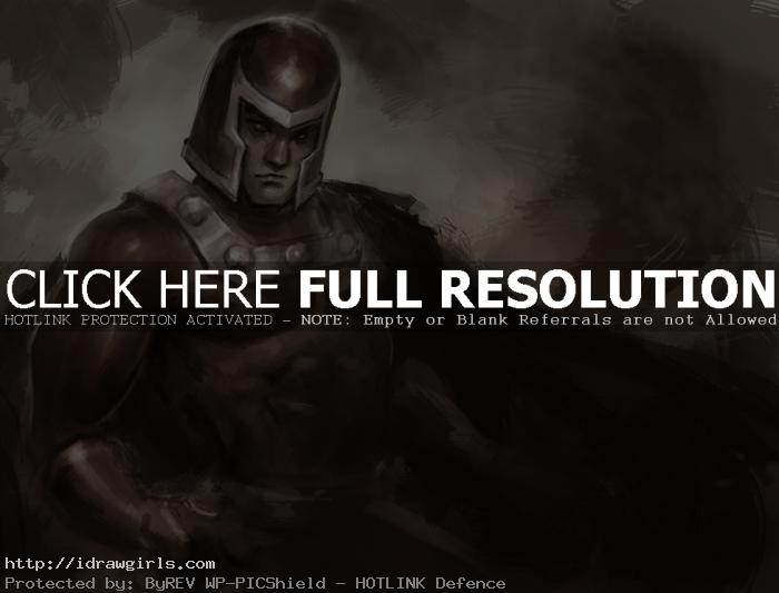 magneto drawing How to draw Magneto