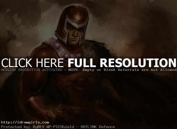 magneto How to draw Magneto