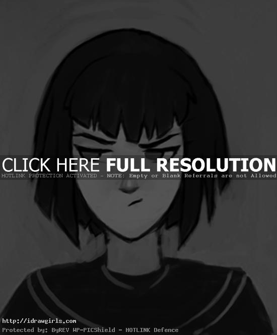 manga mood dissatisfied face How to draw Manga mood disappointment
