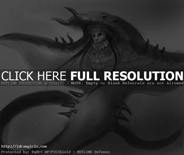 sting ray creature design How to draw sting ray creature