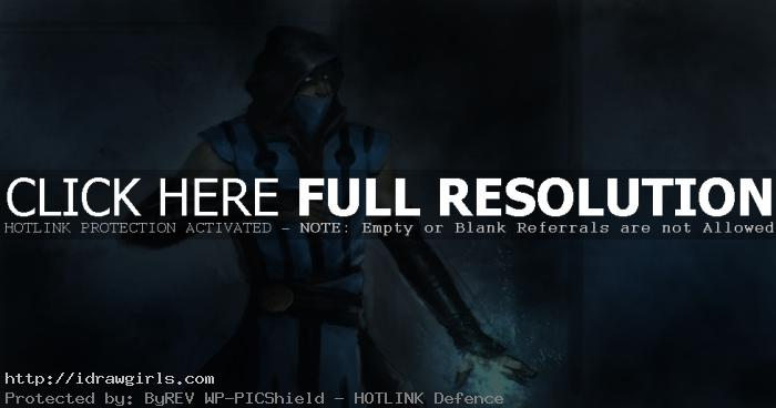 Sub-zero Digital painting tutorial