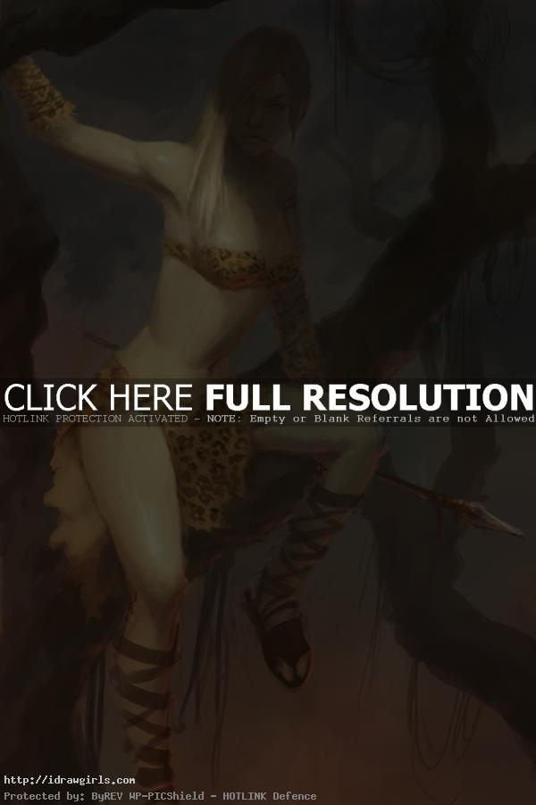tribute to frank frazetta by xia taptara Digital painting tutorial illustration step by step
