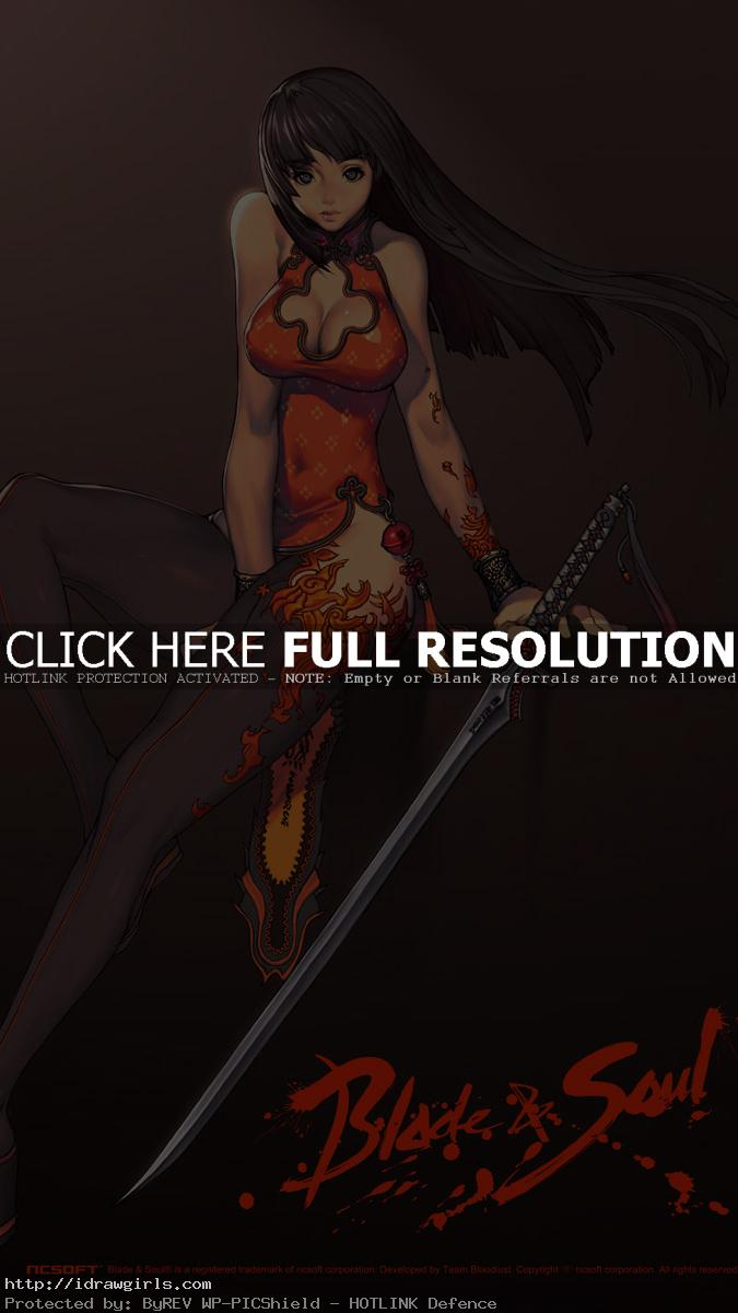 blade and soul concept art Hyung Tae Kims Character design tutorial
