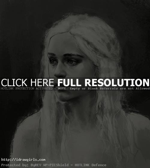 daenerys targaryen game of thrones How to draw Daenerys Targaryen
