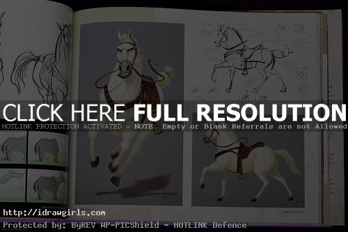 disney horse tangle drawing Tangle concept art book review