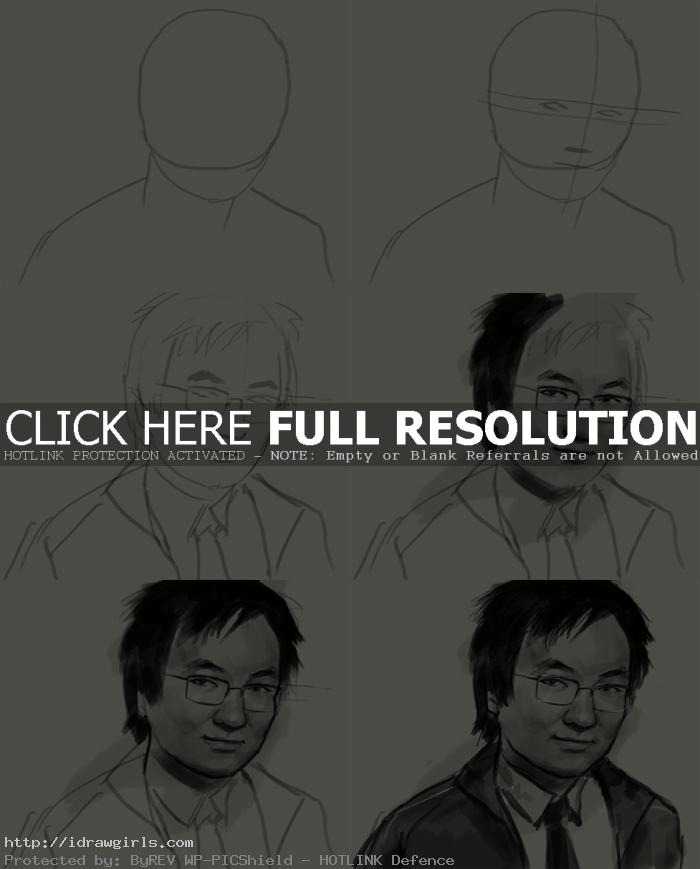 How to draw Hiro Nakamura from Heroes
