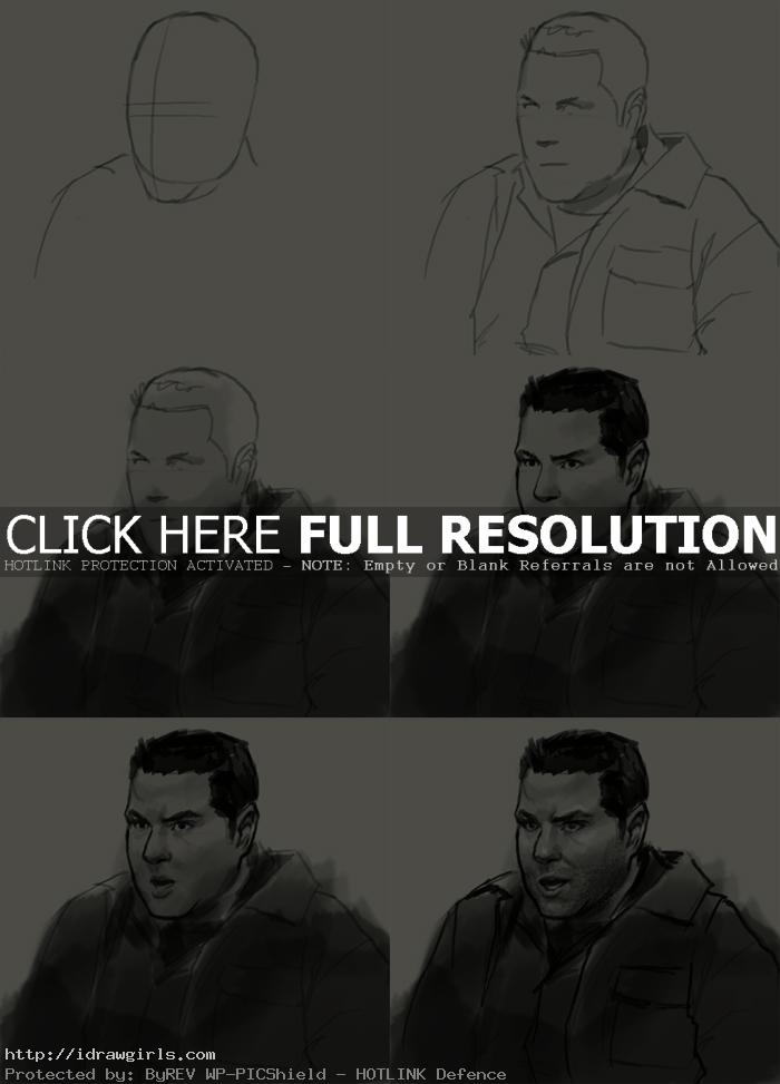 how to draw matt parkman heroes How to draw Matt Parkman